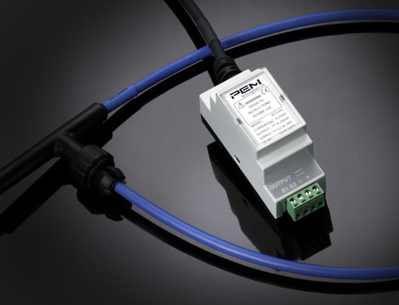PEM RCTrms - AC current transducer for permanent installation and 4-20mA output, 100Arms to 50kArms