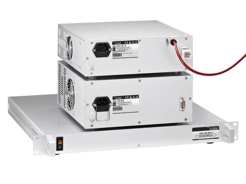 iseg GPS/KPS - analog controlled AC driven high voltage power supplies with a high power density at best output characteristics, 1-80 kV, 300 W-3 kW
