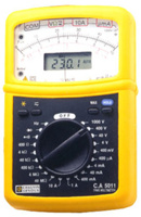 Chauvin Arnoux CA5011 Analog/digital multimeter - analoga multimeterns fördelar med den digitala multimeterns exakthet