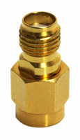 Pico 18 GHz 50 Ω SMA connector adaptor (m-f)