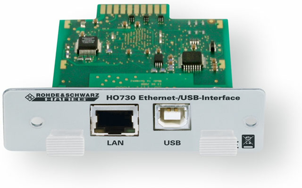 Rohde & Schwarz DUAL Ethernet / USB Interface