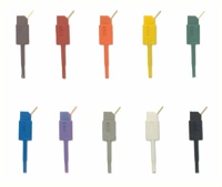 Asix PicoHook10 	Set of 10 miniature colored test hooks for SIGMA2/SIGMA