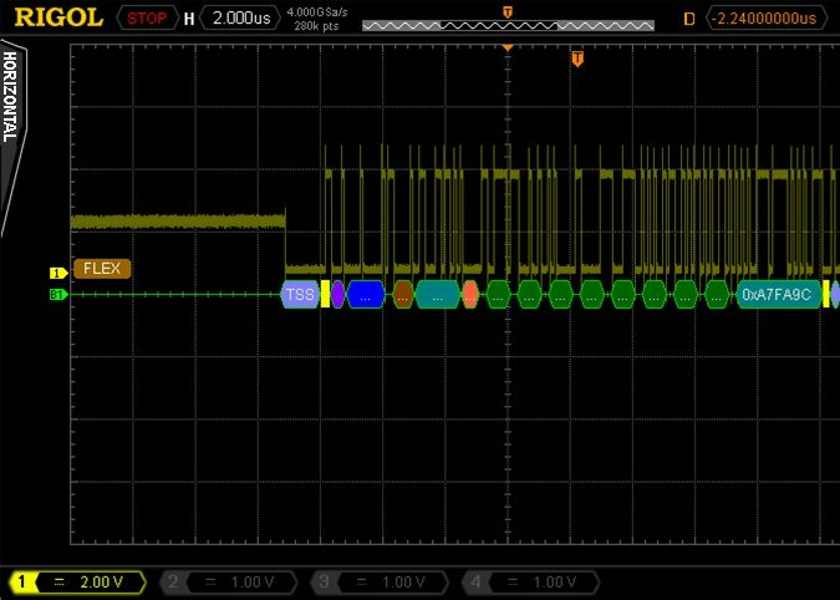 Rigol SD-FlexRay-DS6 FLEXRAY BUS Serial Decode Option for the DS6000 Oscilloscope