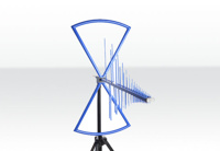 Aaronia HyperLOG 20300 EMI Highend biconical & logarithmic periodic EMI/EMC test antenna