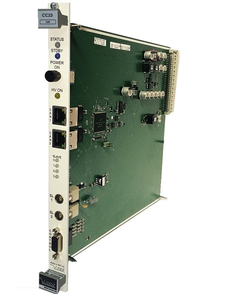 iseg MMS-Controller. Controller Module for use with MMS compatible ECH crate series and modules
