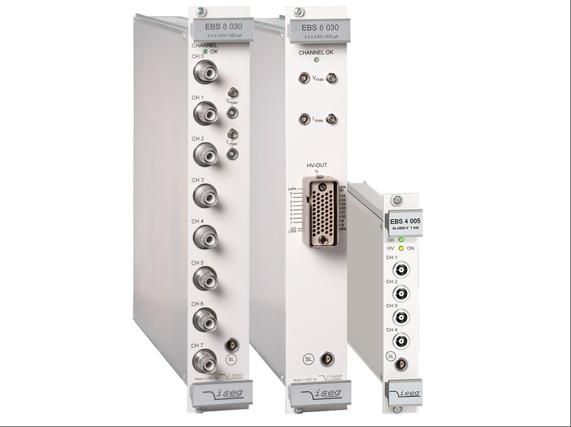 iseg EBS -Bipolar 4 Quadrant High Voltage Module with CFG