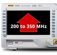 Rigol DS7000-BW2T3 Bandwidth Upgrade Option from 200 MHz to 350 MHz for models MSO/DS7000 series